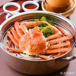 红花蟹放题日本料理的菌菇牛尾汤好不好吃?用肥牛卷v红花吃图片