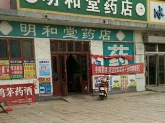 苍山县明和堂药店