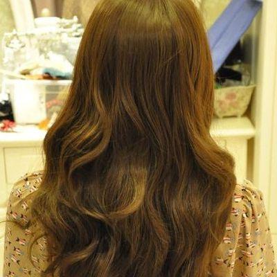 韩式公主发型扎法图解 半扎发更甜美作品图