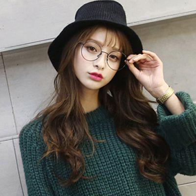 空气刘海长发发型图片 清新淑女范效果图