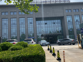 潍坊市政务服务中心汇电新能源电动汽车充电站