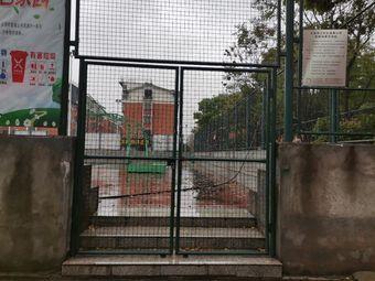 义乌市江东街道青口村篮球场