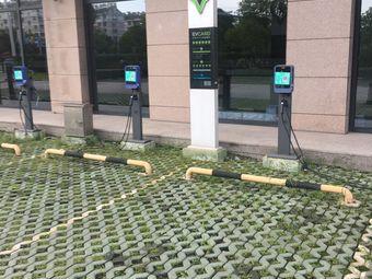 湘城大厦电动汽车充电站