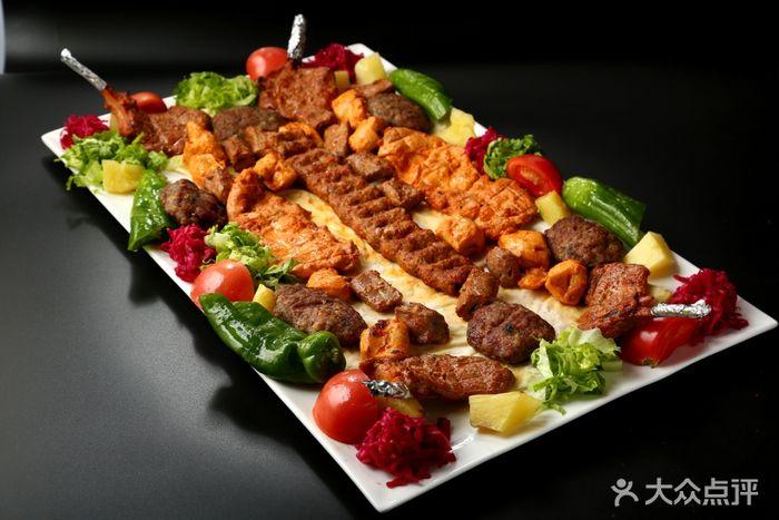 Efes Turkish & Mediterranean Cuisine 艾菲斯餐厅阿达纳烤肉拼盘图片 - 第243张