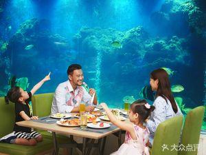 海蓝海底主题餐厅