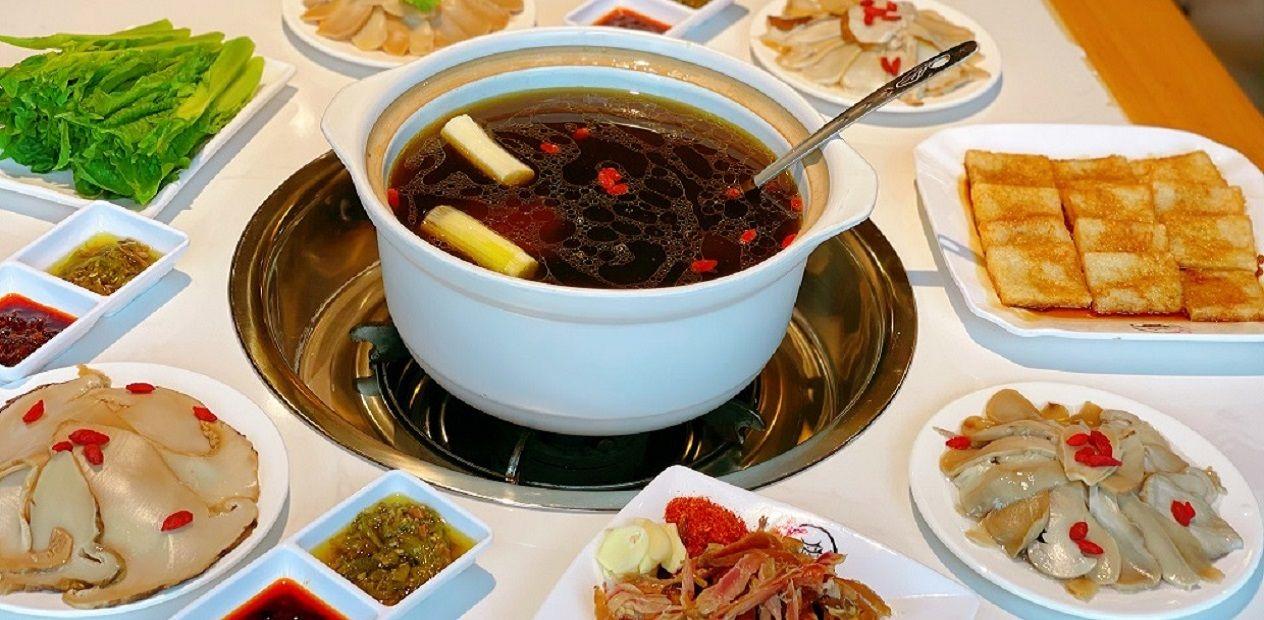 美团圈圈眉山站   菌香缘山珍馆丨3人餐丨秋冬季暖胃,一碗菌汤喝出营养又美味