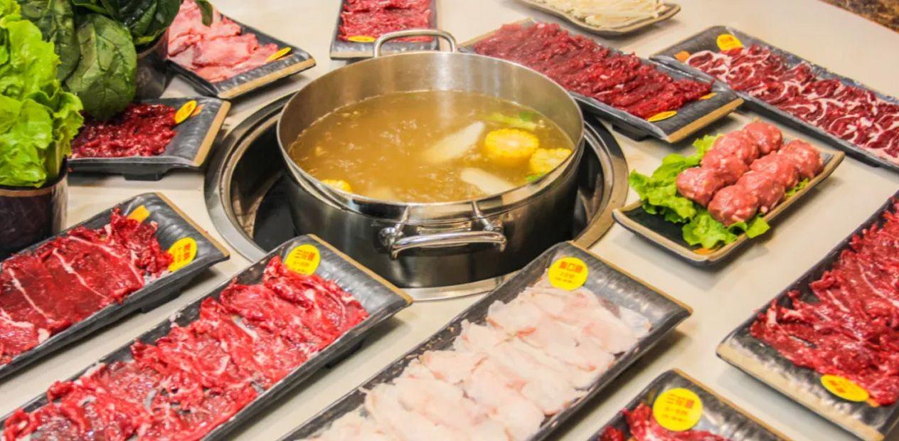 美团圈圈攀枝花站   牛和牌鲜切牛肉火锅 4-5人餐 人均20+元,过时不候