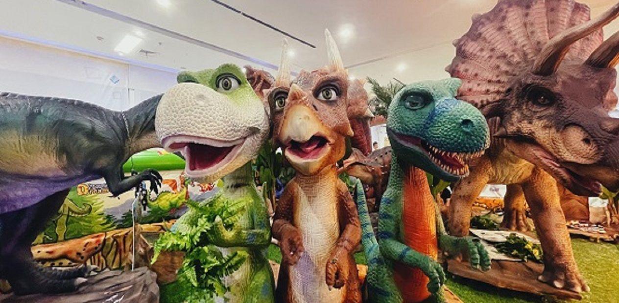 美团圈圈眉山站   梦圆屋5D恐龙科普园丨儿童单人票丨打卡夏日遛娃好去处~