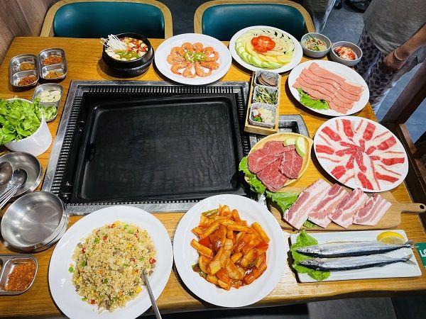 美团圈圈眉山站 | 韩城烤肉料理丨3-4人餐丨来这里,解锁正宗的韩式料理