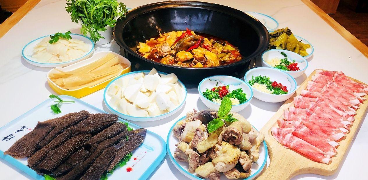 美团圈圈西安站 | 王记酸菜鸡涮肉丨3-4人餐丨免预约丨长安广场
