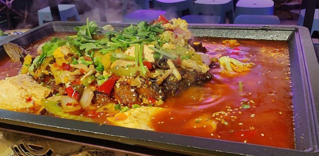 美团圈圈眉山站   杨记兄弟夜宵丨烤鱼套餐丨这家烤鱼太绝了!馋到你失控!