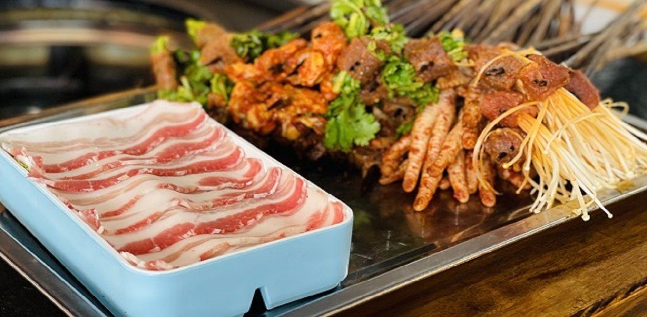 美团圈圈眉山站   熙客涮烤火锅串串丨抢购丨火锅串串+烤肉,享受美食二重奏