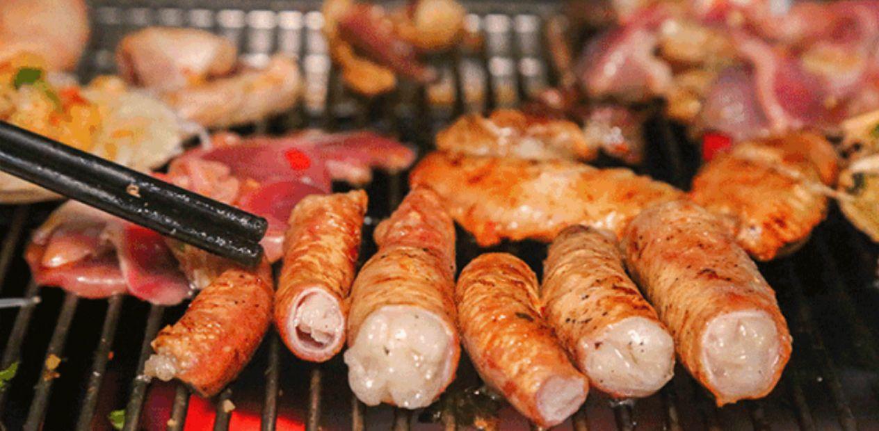 美团圈圈攀枝花站 | 9九久网烧|超值4-5人餐|全程都按照自己口味来烤,巴适
