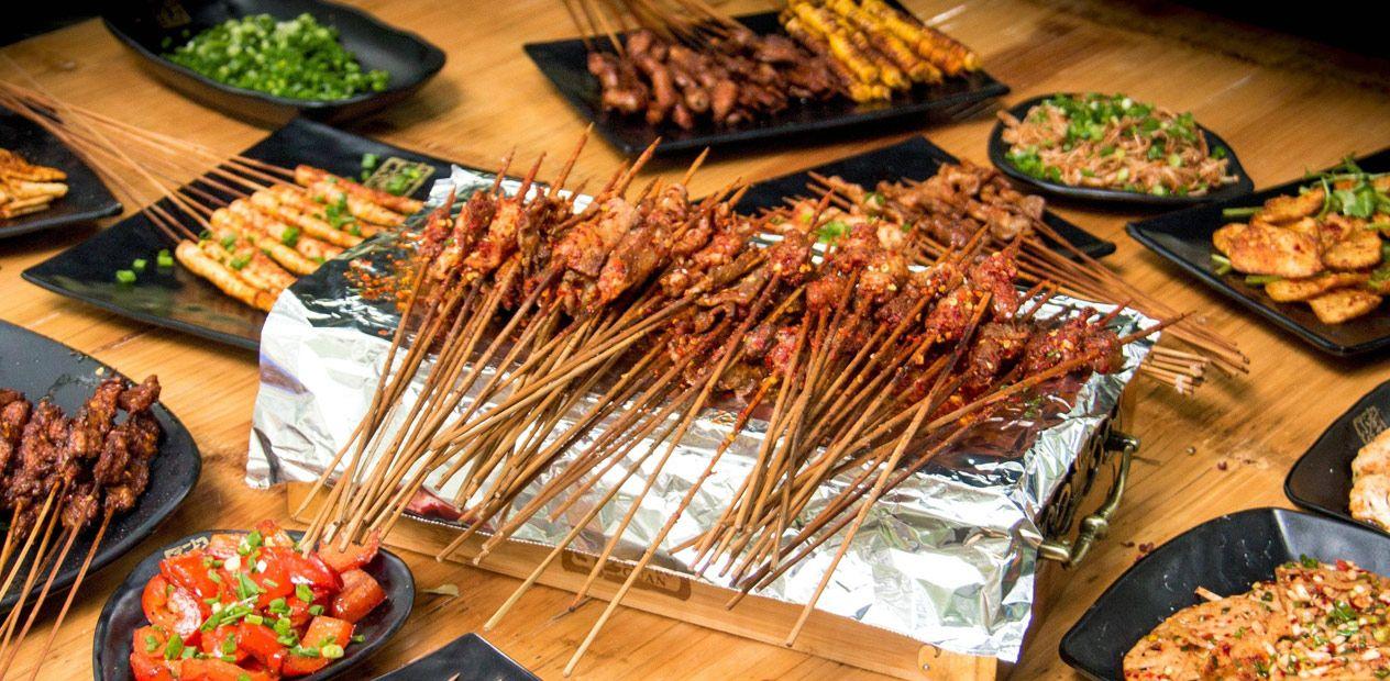 美团圈圈攀枝花站 | 滋冒香夜宵·串烧 ▏烧烤2-3人餐|秘制烤串