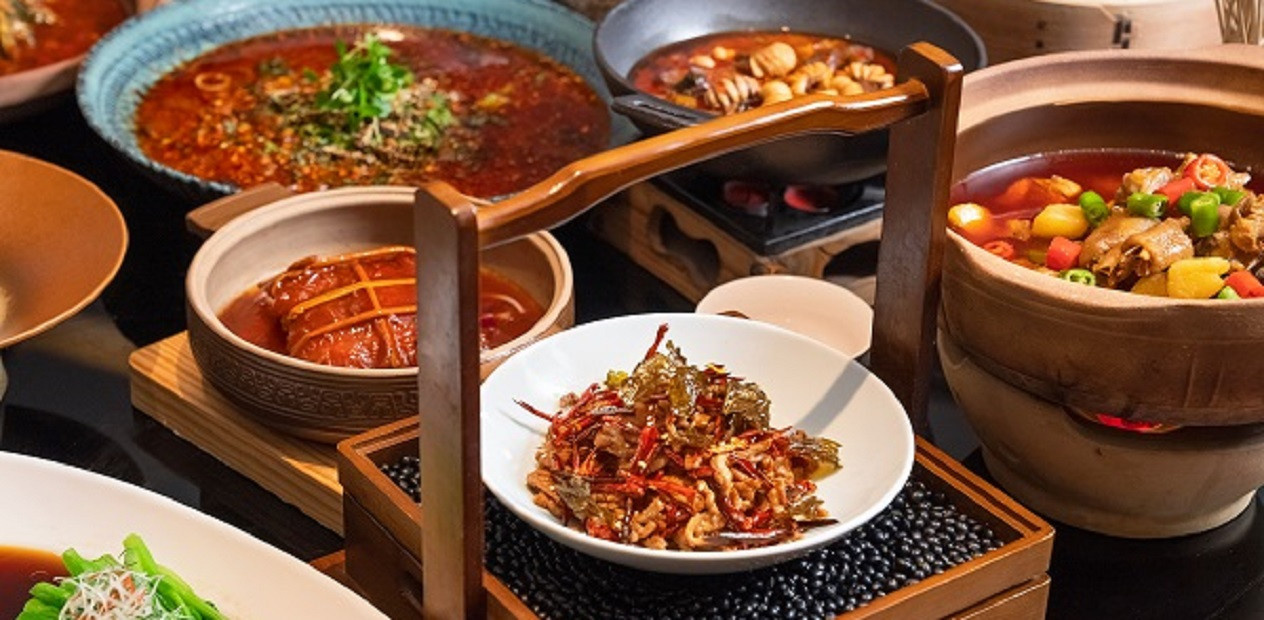 美团圈圈眉山站   岷东会馆丨6-8人餐丨遴选眉山饮食文化的精粹,就在此地!