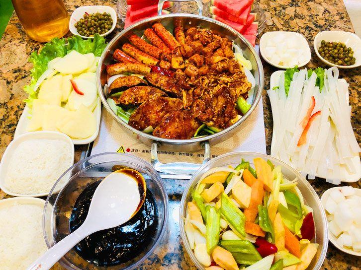 美团圈圈西安站   长安区 和福顺焖锅丨2人餐免预约丨一锅两吃,健康美味