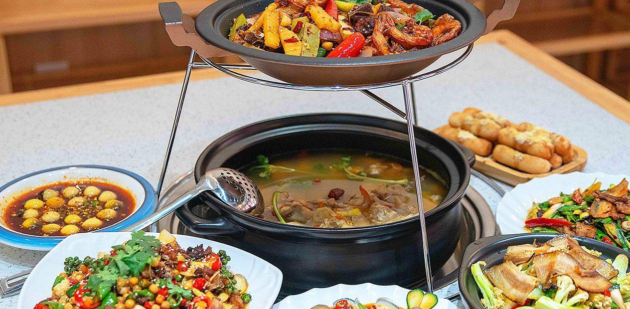 美团圈圈攀枝花站 | 留香记|美味2-3人餐|各种滋补火锅汤,好喝又营养