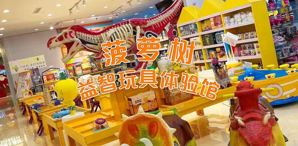 美团圈圈西安站 | 菠萝树益智玩具体验馆|2大1小亲子套餐|免预约|欢乐无限