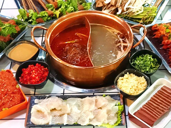 美团圈圈西安站   长安食肆丨2-3人餐丨节假日通用丨荤素搭配吃到爽