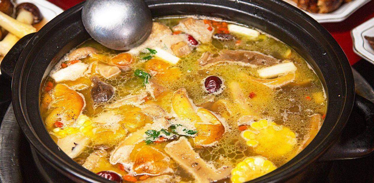美团圈圈攀枝花站 | 野菌园·菌汤锅|菌汤锅3-4人餐|排队都要吃的野生菌火锅