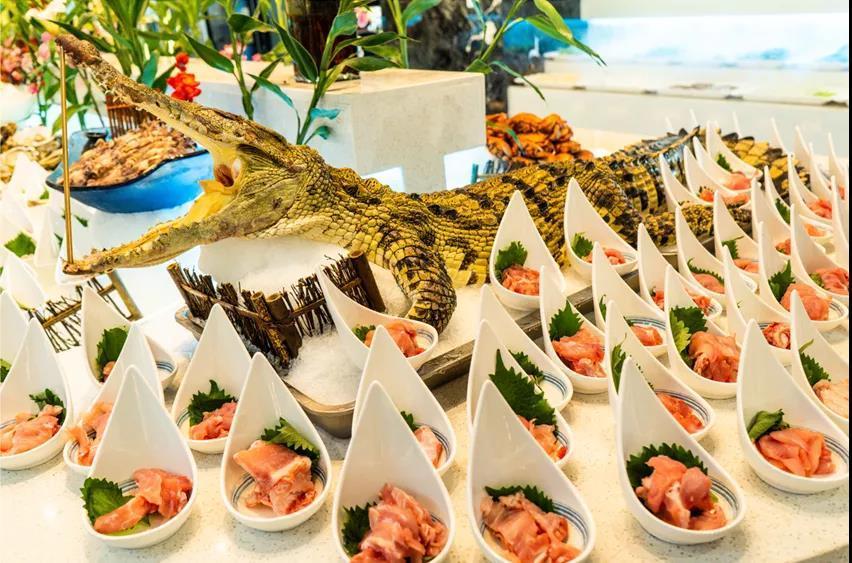 美团圈圈西安站 | 万兴海鲜自助|单人自助限量|一站式生猛海鲜无限吃