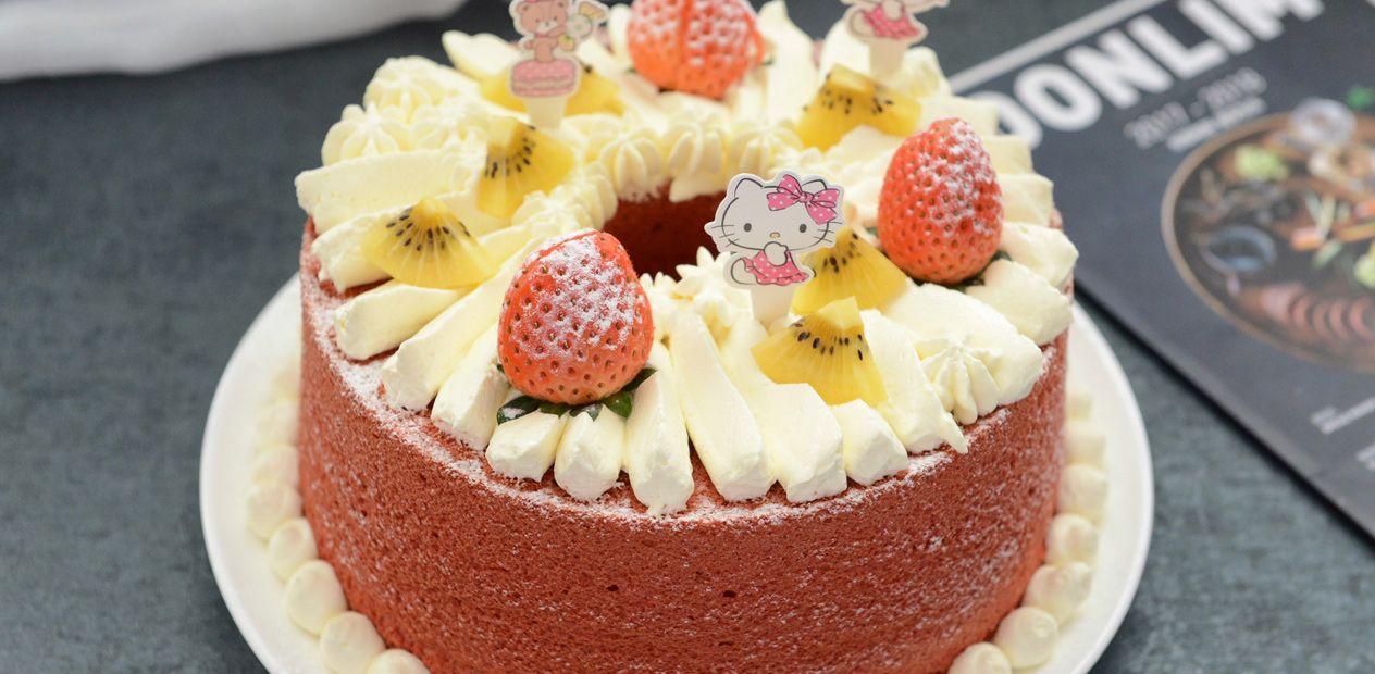 美团圈圈攀枝花站   幸福时光烘焙  超值6寸水果蛋糕3选1  专注私房烘焙