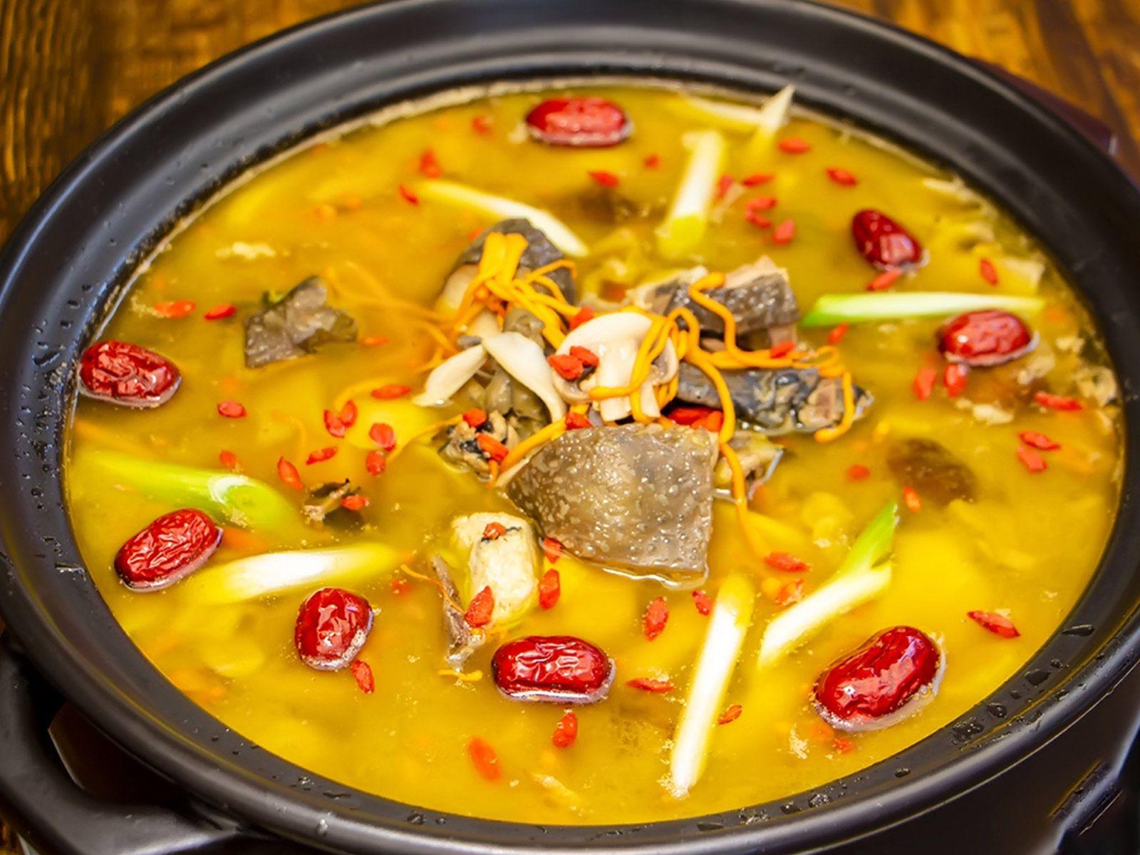 美团圈圈攀枝花站 | 满盆红菌汤锅(华芝店)|汤锅超值2-3人餐|鲜菌汤肚鸡