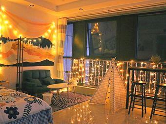 静的小怪屋(奥体花园公寓)中央空调 北欧风,简约,适合情侣入住,拍照