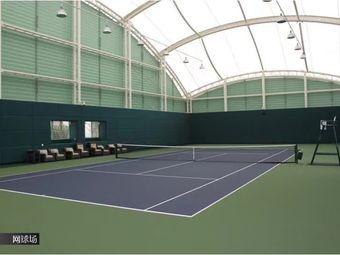 绿洋山庄康体中心网球馆