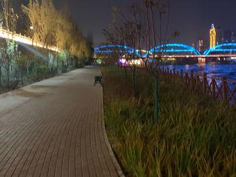 黄河河道健身步道