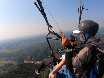 鹅形山滑翔伞国家飞行营地(宁乡店)